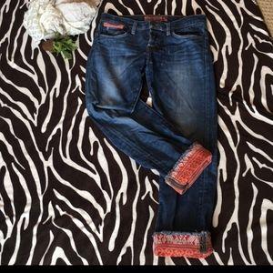 Lucky Brand Sienna Tomboy Crop